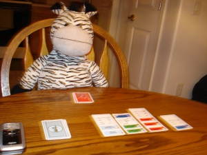 We even made time to play several hours worth of card games