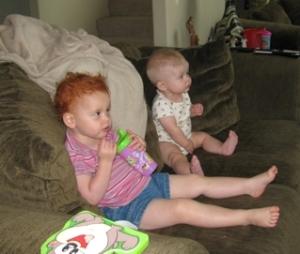 2-watching tv