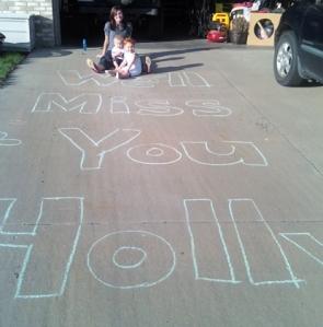 we'll miss you hols