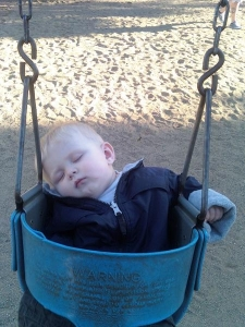 caleb in swing