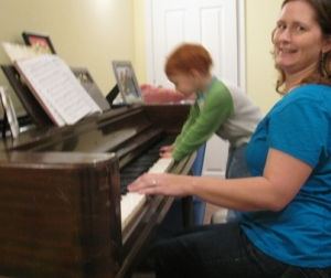 missy and angel piano