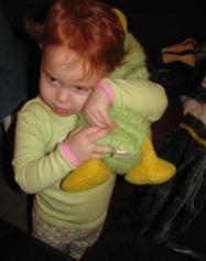 angel found duck